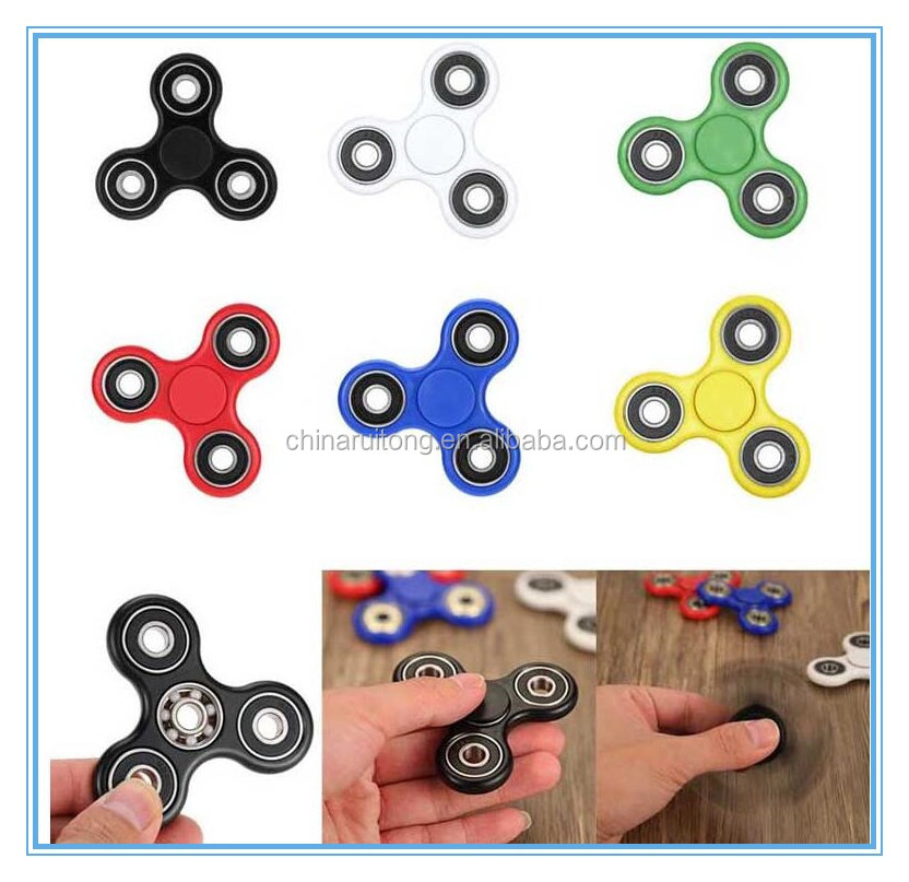 yiwu cheap Hand Spinner Toy, ABS Plastic Finger Spinning Top