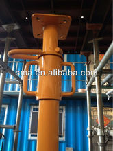 Powder Coated Adjustable Steel Shoring Prop Scaffold For Construction Support