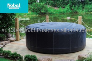 Popular comfortable inflatable swimming pool portable spa tub for sale