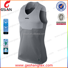 Custom Sublimation Printed Dri Fit Mens 100% polyester singlets