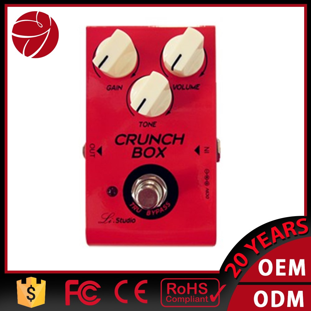 CRUNCH BOX Electric Guitar British classic rock distortion Effect Pedal