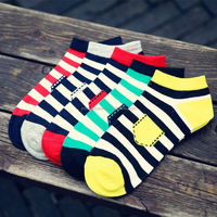 YJB41 wholesale Fashion men's socks cotton teen tube socks