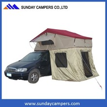 ROOF TOP TENT - DELUXE - COMBO ROOF TOP TENT AND LOWER ROOM