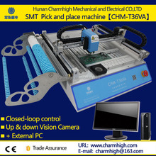 Low price factory supply SMT production line/SMT pick and place machine CHMT36VA/PCB LED mounting