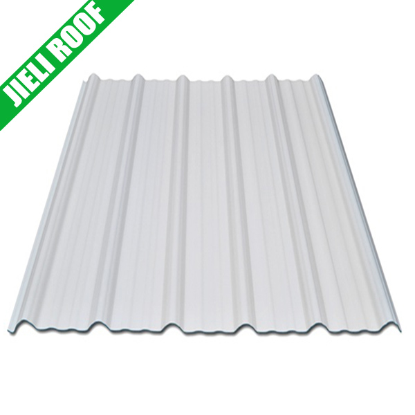 Corrugated White Hard Plastic Roof Sheet