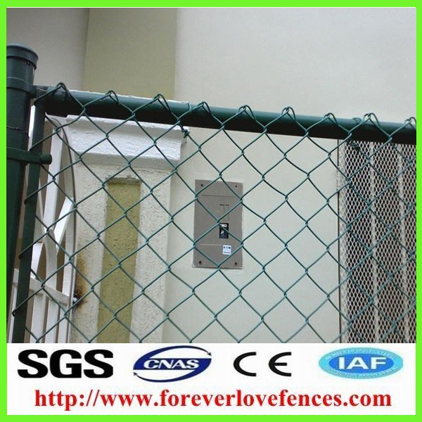 Popular palisade company competitive price chain link fence/fences