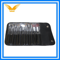 foldable 13 Piece Makeup Brush Set and Case