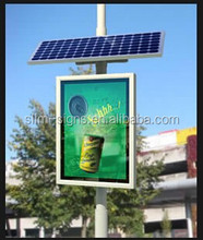 Solar Powered LED advertising sign board