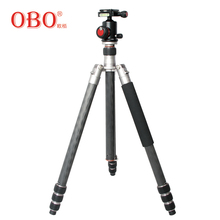 OBO professional Carbon Fiber Tripod Best Photo Tripod Telescoping Camera Tripod
