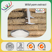 Wild yam extract free sample GMP HACCP certified manufacturer supply balance estrogen wild yam root extract powder