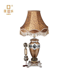 The new European antique telephone lamp peacock retro fashion classic high-end landline telephone ZX