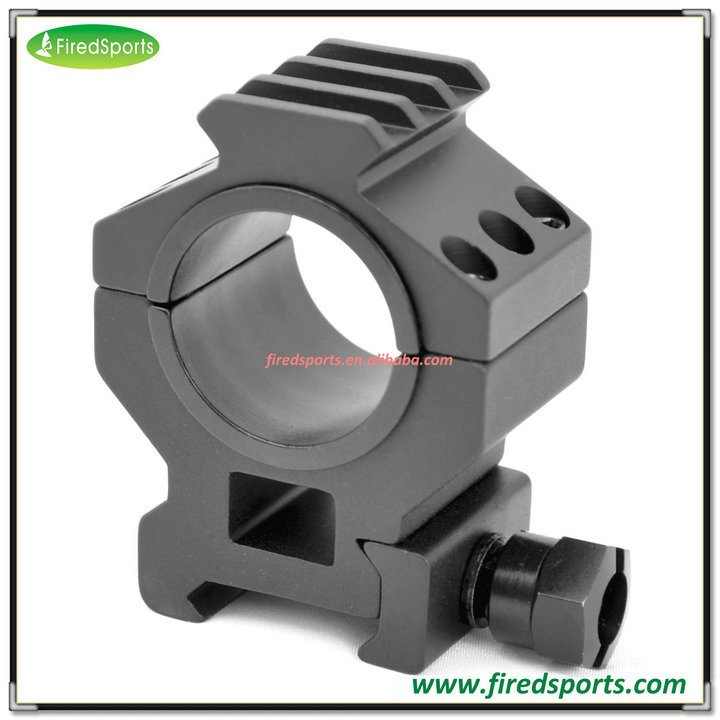 "RIS0047--Hot Sell High Quality HEAVY DUTY TACTICAL Medium 30MM 1"" PICATINNY WITH ACCESSORY RAIL TOPS"