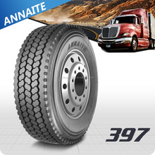 Qingdao truck tire with low price 385/65R22.5