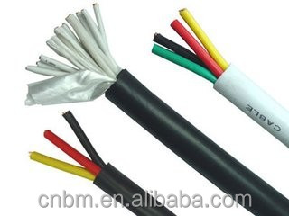Single Core and multi-core PVC Insulated and PVC Sheath Cable video cable