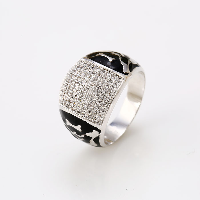 12416-wholesale jewelry fashion jewelry turkish silver men rings