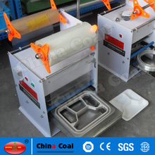 factory price semi automatic food tray sealer