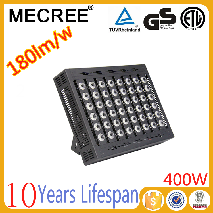 400w led flood light incandescent luminaire lamp led high bay light for warehouse