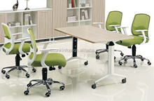 Wood modern design high top small size office meeting table