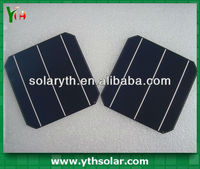 China Supplier 6'' 156 mm 4.2w 0.5v Motech Monocrystalline Solar Cell for sale 6x6 solar cell wholesale