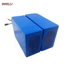 SOSLLI 18650 12V 10Ah 4S5P round lithium battery pack rechargeable lifepo4 li ion start battery pack