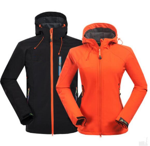 2019 unisex paar Outdoor winddicht waterdicht soft shell sportkleding, top, jas, jas
