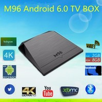New Arrival M96 Google Android TV Box Amlogic S905X Bluetooth 4.0 Gigabit 2G 8G TV box