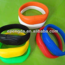 promotion usb wristband drive 2gb 4gb,gift bracelet usb with logo 2gb 4gb,customized silicone bracelets usb bracelets 2gb