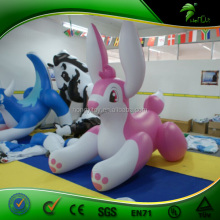Custom Inflatable Cartoon / Inflatable Rabbit Animals / Lovely Inflatable Cartoon Characters