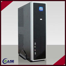 horizontal deluxe thin mini itx case with power supply