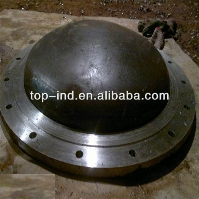 China flange and cap