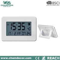 Electric digital night light wall clock , gym lcd number digital wall clocks with snooze function