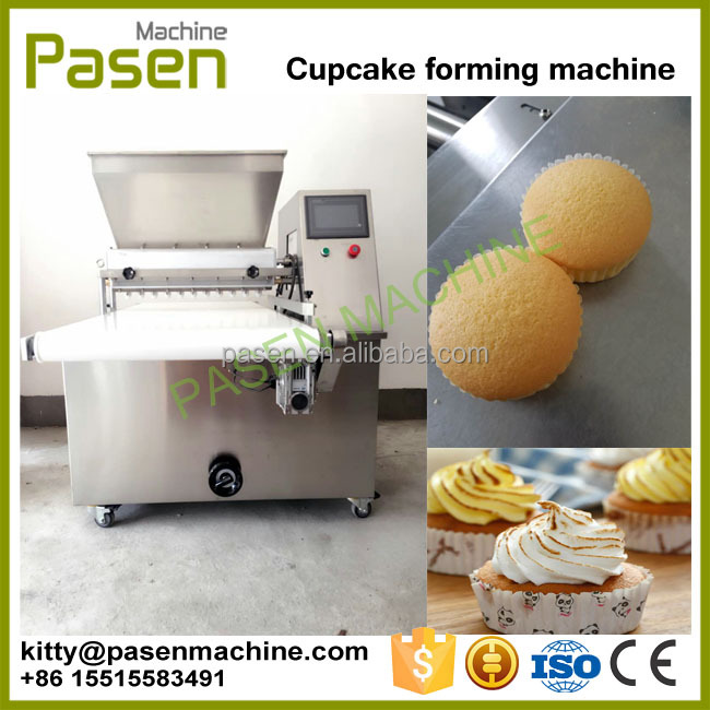 Factory supply cup cake making machine / cupcake maker