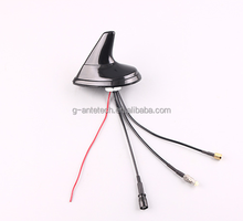 High quality high gain gps +fm/am radio car Antenna