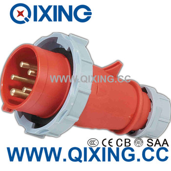 IEC60309 Best Quality 16A 3 Phase 5P Red Power Plug