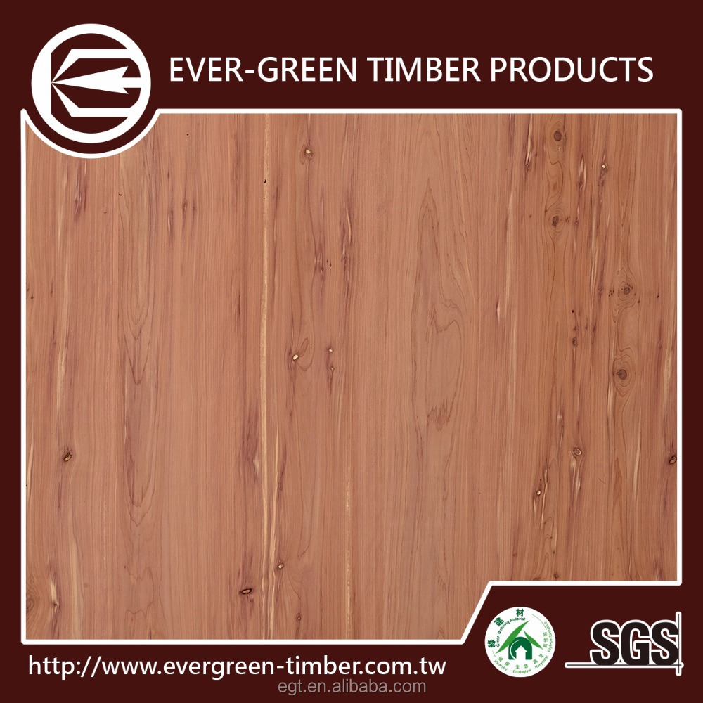 lastest house usage red cedar plywood sheet for plywood board