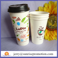 Eco friendly disposable paper printed cup company