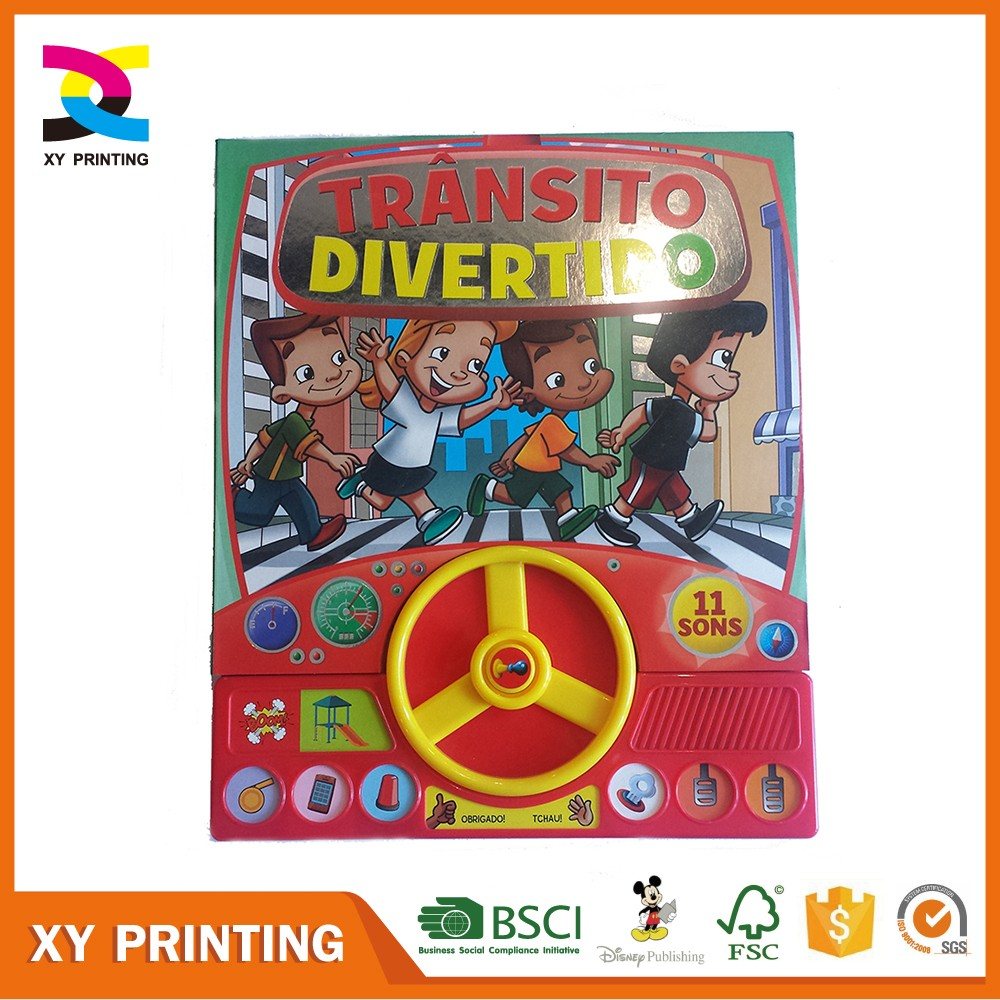 Custom wholesale english recordable story book for kids