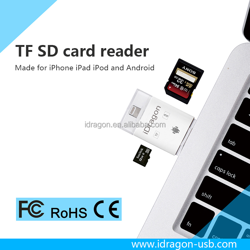 High Quality Micro usb sd micro sim card adapter for iphone7 with usb ports