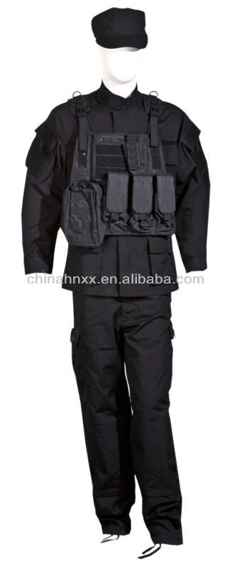 US Army full uniform - SWAT black color