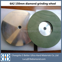 resin bond diamond grinding wheel for quartz and topaz grinding