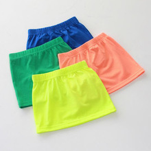 C81813A Candy color girl's short skirts