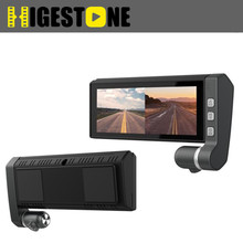 Chinese supplier dual channel dash cam driver assistant double camera car dvr
