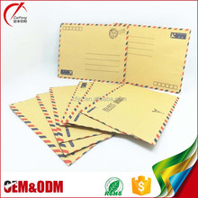 Alibaba simple fashion kraft paper envelope printing,peal&seal envelope