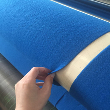 PP or PET Short Fiber Nonwoven Geotextile For Slope Protection