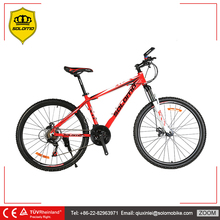 SOLOMO X1 High Quality Aluminum Alloy Mountain Bike 21 Speed