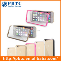 Mixed Random Color Transparent Phone Case For iPhone 6