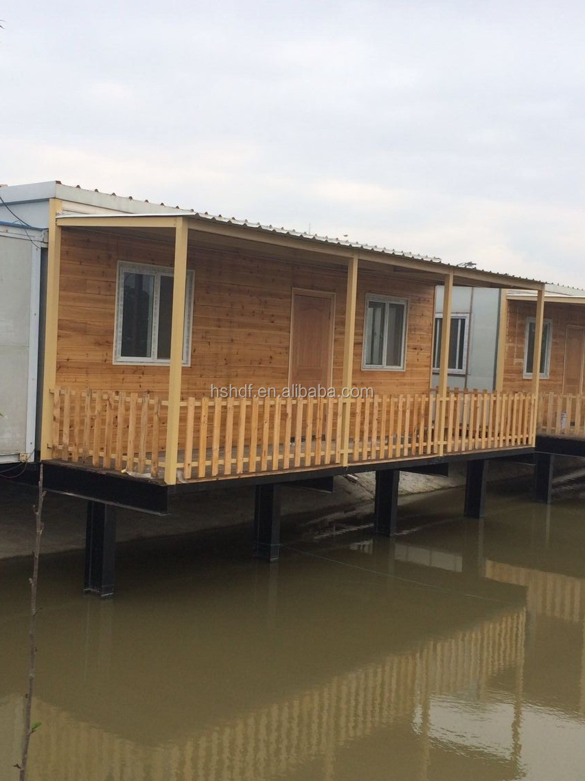 The fashionable prefabricated modular movable houses for sale