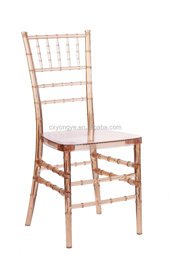 Hotel Furniture Type and Commercial Furniture General Use resin chiavari chairs