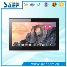 USB/SD/Mini USB/ RJ-45 Video Display Function 13.3 inch android tablet with vesa mounting