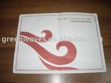 non-slip paper tray mat for airline